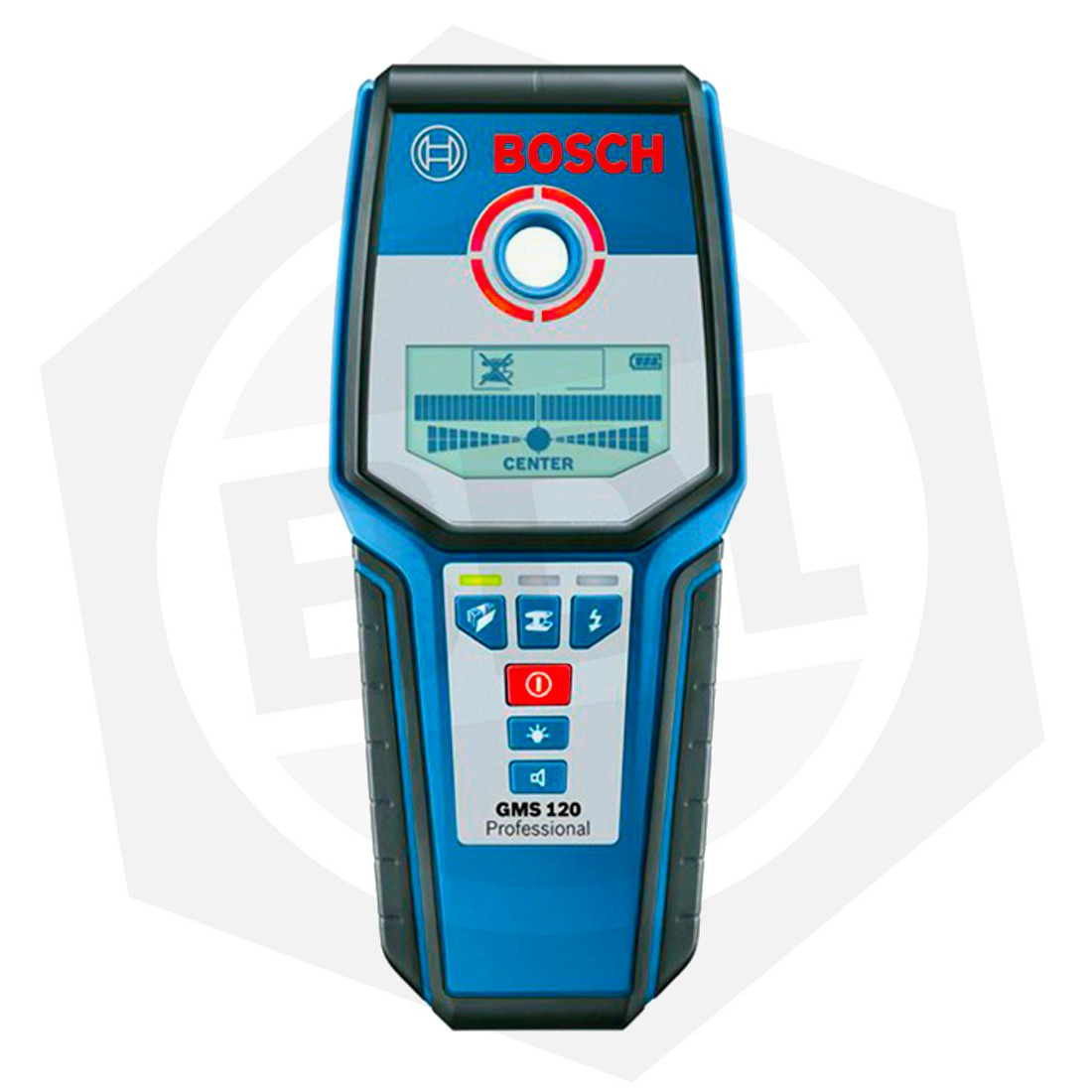 OFERTA - 10% DE DESCUENTO - Detector Digital Bosch GMS 120 - METAL / MADERA / ELECTRICIDAD