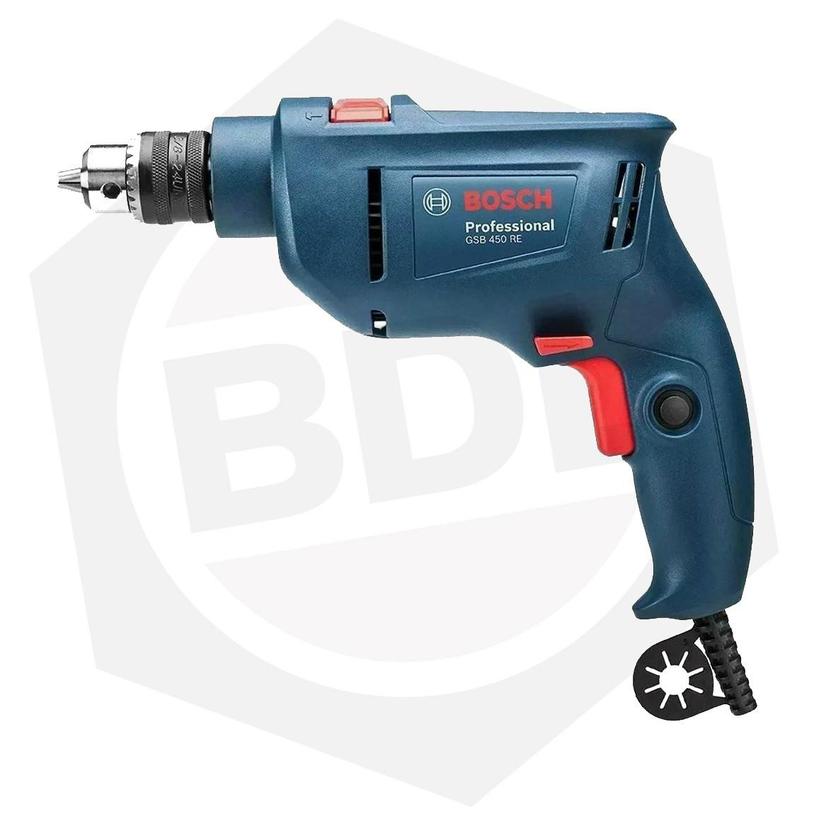 OFERTA - 15% DE DESCUENTO - Taladro Percutor Bosch GSB 450 RE - 450 W