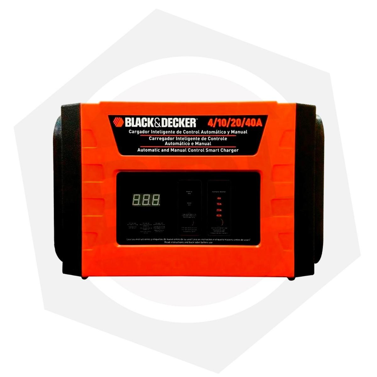 Cargador de Baterías Black & Decker BC40