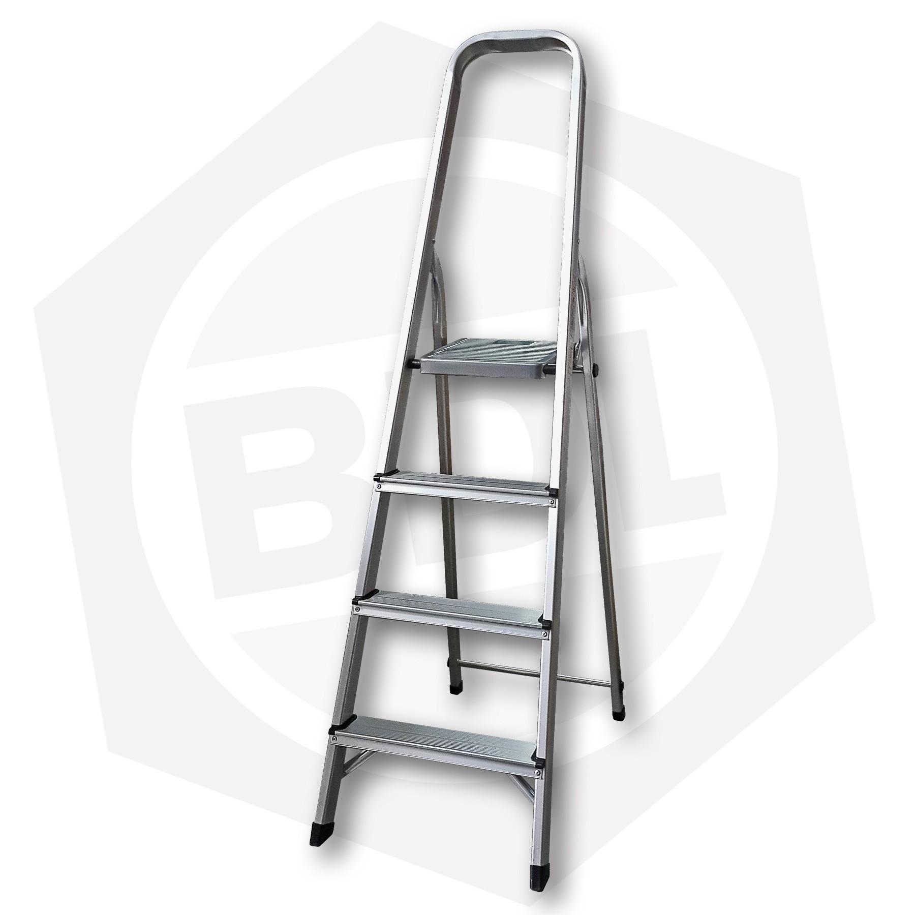 OFERTA - 15% DE DESCUENTO - Escalera de Aluminio Familiar con Arco FMT - 4 Escalones