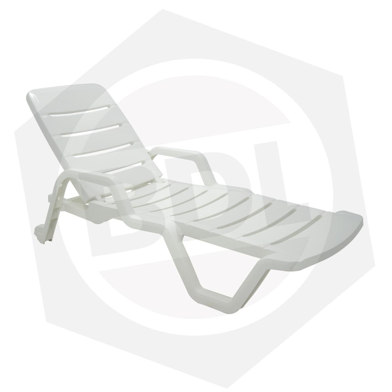 Reposera Plástica LEBLON Tramontina 92256/010 - Blanca