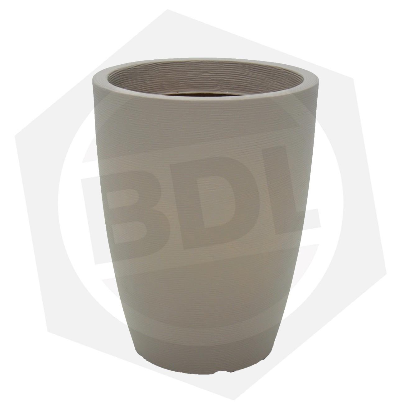 Maceta Plástica THAI Tramontina 92793/210 - 58 cm / CONCRETO