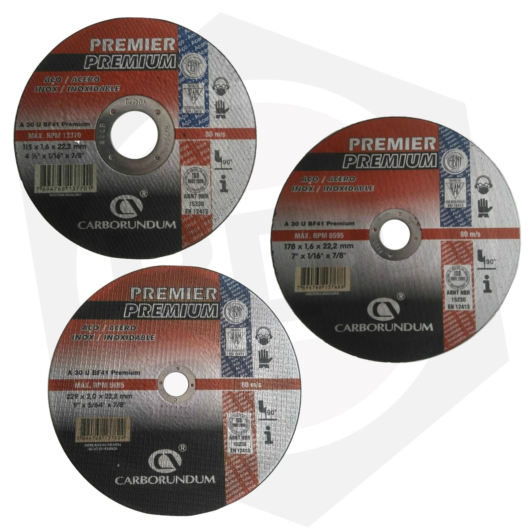 Disco de Corte Premium Carborundum