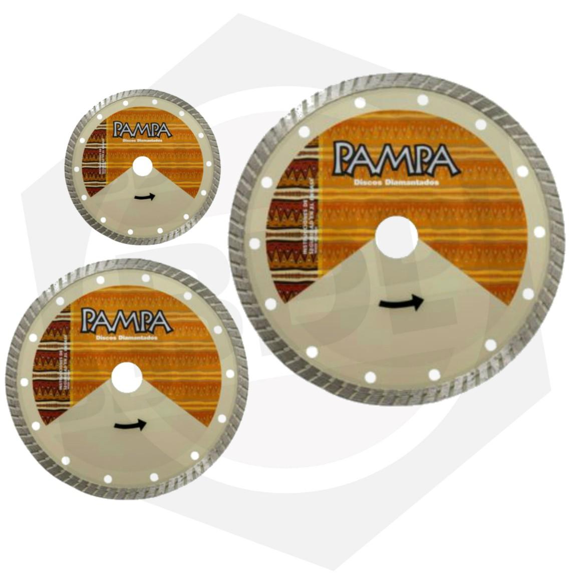 Disco Diamantado Turbo Pampa