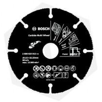 Disco de Corte Diamantado para Madera Bosch Carbide Multi Wheel - 115 mm
