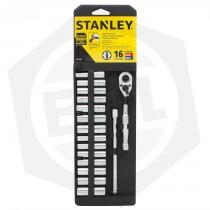 Juego de Bocallaves Stanley 89-199 - 16 Piezas