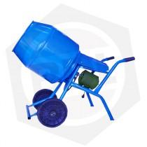 Hormigonera Reforzada IS-FRA HCO08 - Motor 1 HP / 130 Litros / Ruedas Macizas