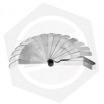 Juego de Sondas Curvas Grabadas Milimétricas para Válvulas Bremen 7035 - 16 Hojas