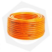 Caño Riego Trenzado Naranja Pabovi - 15 m / 4 Accesorios