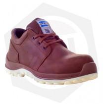Zapato OMBU Zem Cobalto con Puntera Composite - Talle 40 / Marrón