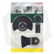 Set para Herramientas Multiproposito Bosch 2607017324 - 3 Piezas