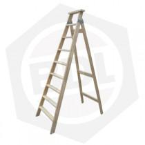 Escalera de Madera Familiar Simple Femat - 9 Escalones