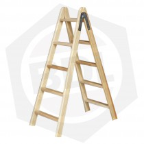 Escalera de Madera Pintor Doble Femat - 5 Escalones