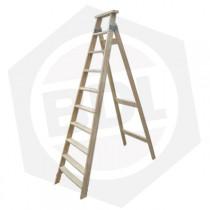 Escalera de Madera Familiar Simple Femat - 10 Escalones