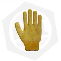 Guante de Algodón Doble Faz Oro Moteado ZB GPM027 - Filetero