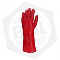 Guante PVC Rojos Bilvex De Pascale 31545 - 40 cm