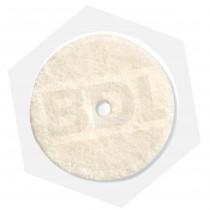 """Mini Accesorio Disco de Fieltro para Pulir Dremel 414 - 1/2"""" / 6 Piezas"""