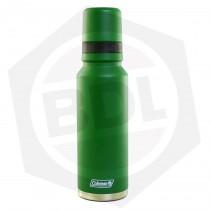 OFERTA - 10% DE DESCUENTO - Termo Coleman Verde - Tricapa / Acero Inoxidable / 1.2 Litros