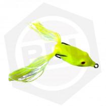 Señuelo Antienganche Rana Flounder FG07 - Amarillo Fluo / 5 cm