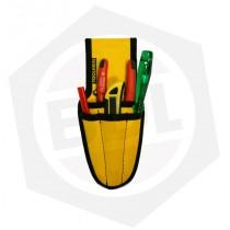 Porta Herramientas Electricista Mini Toolmen T24 - 4 Bolsillos