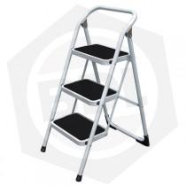 Escalera de Metal Alpina - 3 Escalones