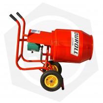 Hormigonera Duroll con Motor de 1 HP - 150 Litros / Ruedas Neumáticas