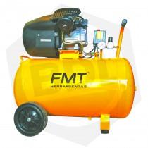 Compresor Bicilíndrico FMT TD-41100B - 100 Litros / 220 V / 4 HP