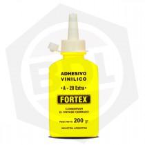 Adhesivo Vinílico FORTEX A-20 Extra - 200 g / Pote con Pico