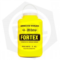 Adhesivo Vinílico FORTEX A-20 Extra - 6 Kg