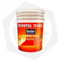 Membrana Líquida Dessutol Techos Venier - 20 Litros / Blanco