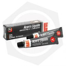 Adhesivo Acero Epoxi 10 Minutos Siloc 400537 - 57 gs / GRIS ACERO