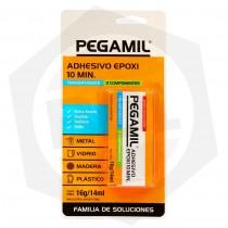 Acero Epoxi Pegamil 10 Minutos - 14 ml / TRANSPARENTE