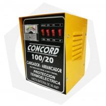 Cargador Arrancador de Baterías Concord 20/100