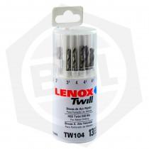 Juego de Mechas para Acero Rápido IRWIN Lenox Twill TW104 - 13 Piezas