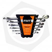 Juego de Llaves Combinadas FMT SET6U-M - Milimétricas / 6 Piezas