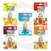 Aromatizantes para Autos K78 Wild Fresh 107 - 6 cc / Aromas Varios