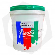Látex Eco Interior FIESTA / BDL - 4 Litros / Blanco Mate