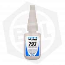 Adhesivo Instantáneo TEKBOND CIANO 793 - 20 G