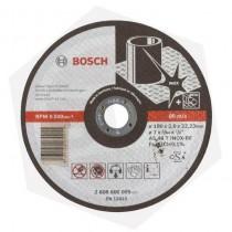 Disco de Corte Plano Eco Metal Inox Bosch - 180 x 1.6 mm