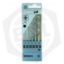 Juego de Mechas para Metal Bosch 2608595517 - 5 Piezas