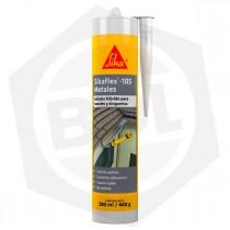 Adhesivo Sellador Sikaflex 105 Metales - 280 ml / GRIS