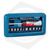 Juego de Puntas para Atornillador Bosch 2607017399 - 46 Piezas