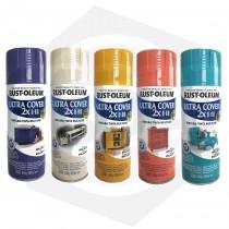 Pintura en Aerosol Brillante Ultra Cover 2X Rust-Oleum