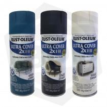 Pintura en Aerosol Satinado Ultra Cover 2X Rust-Oleum