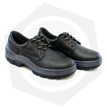 Zapato Bohm Cuero Flor con Punta de Acero Bidensidad y Suela PU