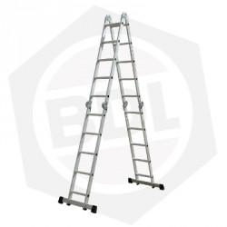 OFERTA - Escalera de Aluminio Articulada FMT - 20 Escalones
