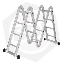 OFERTA - 10% DE DESCUENTO - Escalera de Aluminio Articulada Ferpak - 16 Escalones