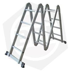 OFERTA - Escalera de Aluminio Articulada FMT - 16 Escalones