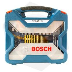 OFERTA - 15% DE DESCUENTO - Juego de Mechas y Puntas Bosch X-LINE X100TIN - 100 Piezas