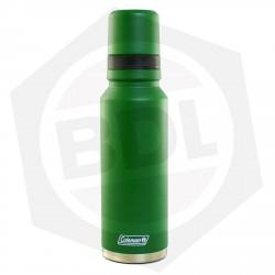 Termo Coleman Verde - Tricapa / Acero Inoxidable / 1.2 Litros